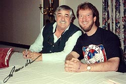 Eric with James Doohan (Scotty), 1992