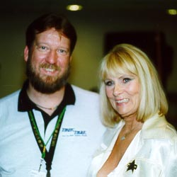 Eric with Grace Lee Whitney, Dragon*Con 1999