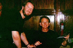 Eric with Rene Oberjonois (Security Chief Odo), October 1994
