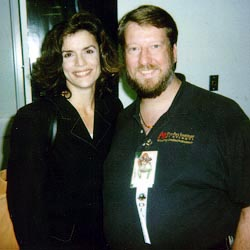 Eric with Robin Curtis, Dragon*Con 1998